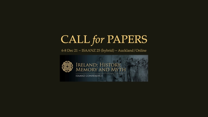ISAANZ 25 (hybrid): Call forPapers